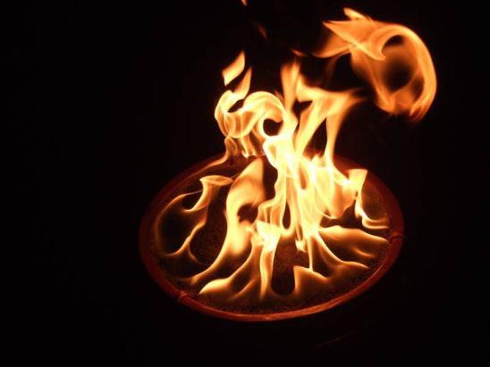 DIY Gazlı Ateş Çukuru Saksı