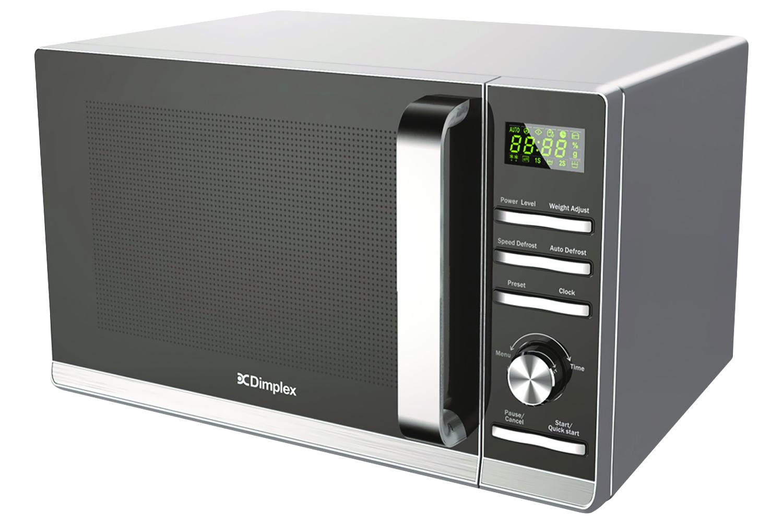 dimplex 23l 900w freestanding microwave 980538 silver