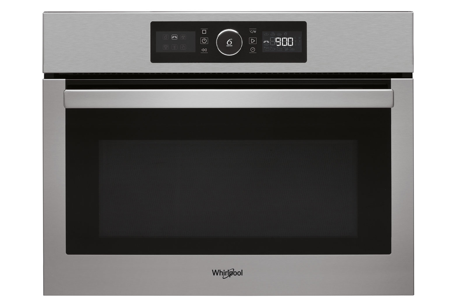 whirlpool 40l 900w built in microwave oven amw9615 ixuk stainless steel