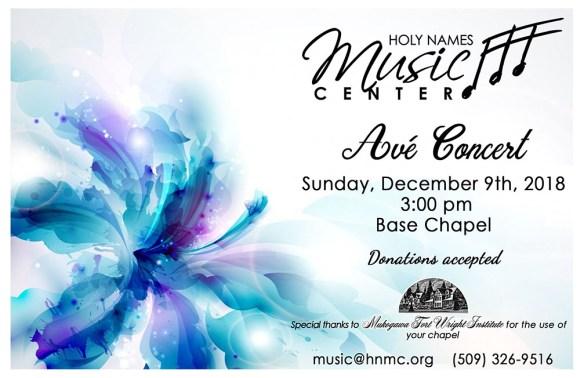 Ave Concert flier web post