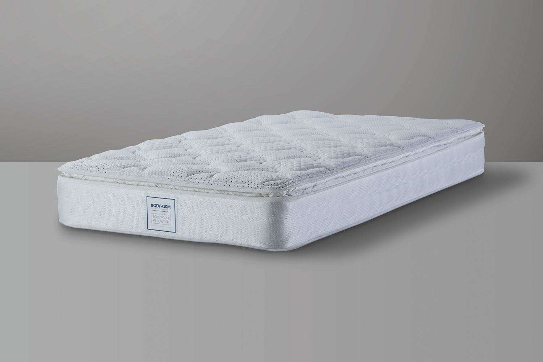 bodyform pillowtop king single mattress by sealy