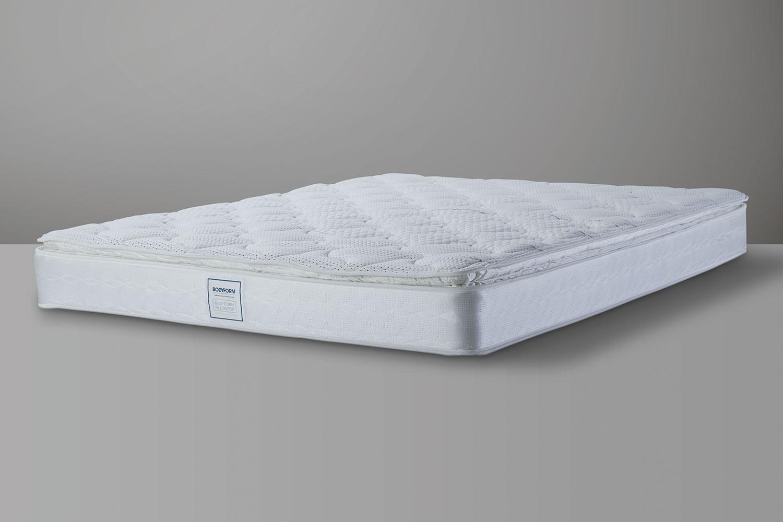 bodyform pillowtop queen mattress by sealy