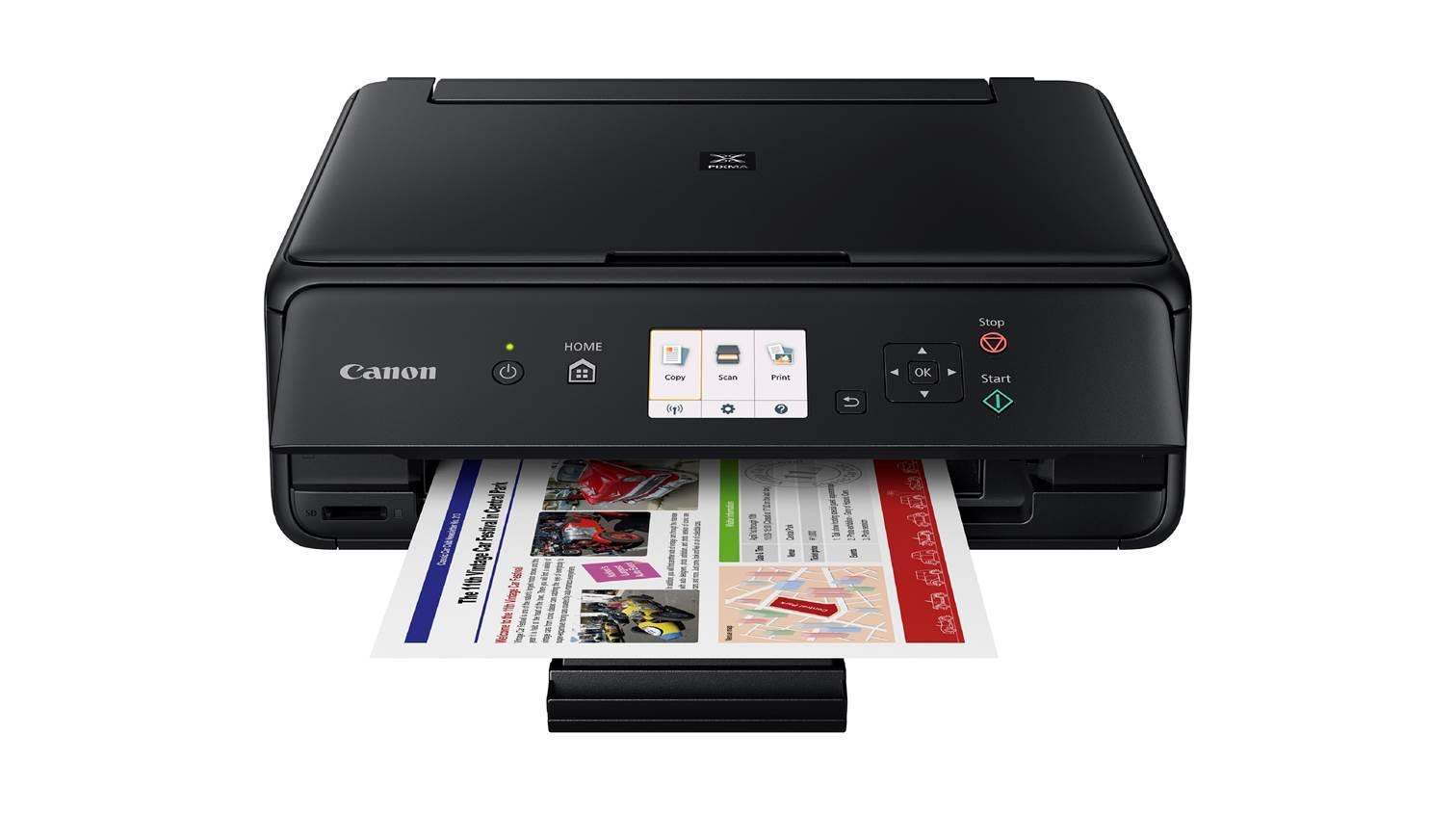 Canon Pixma Ts5070 All In One Printer Black Harvey