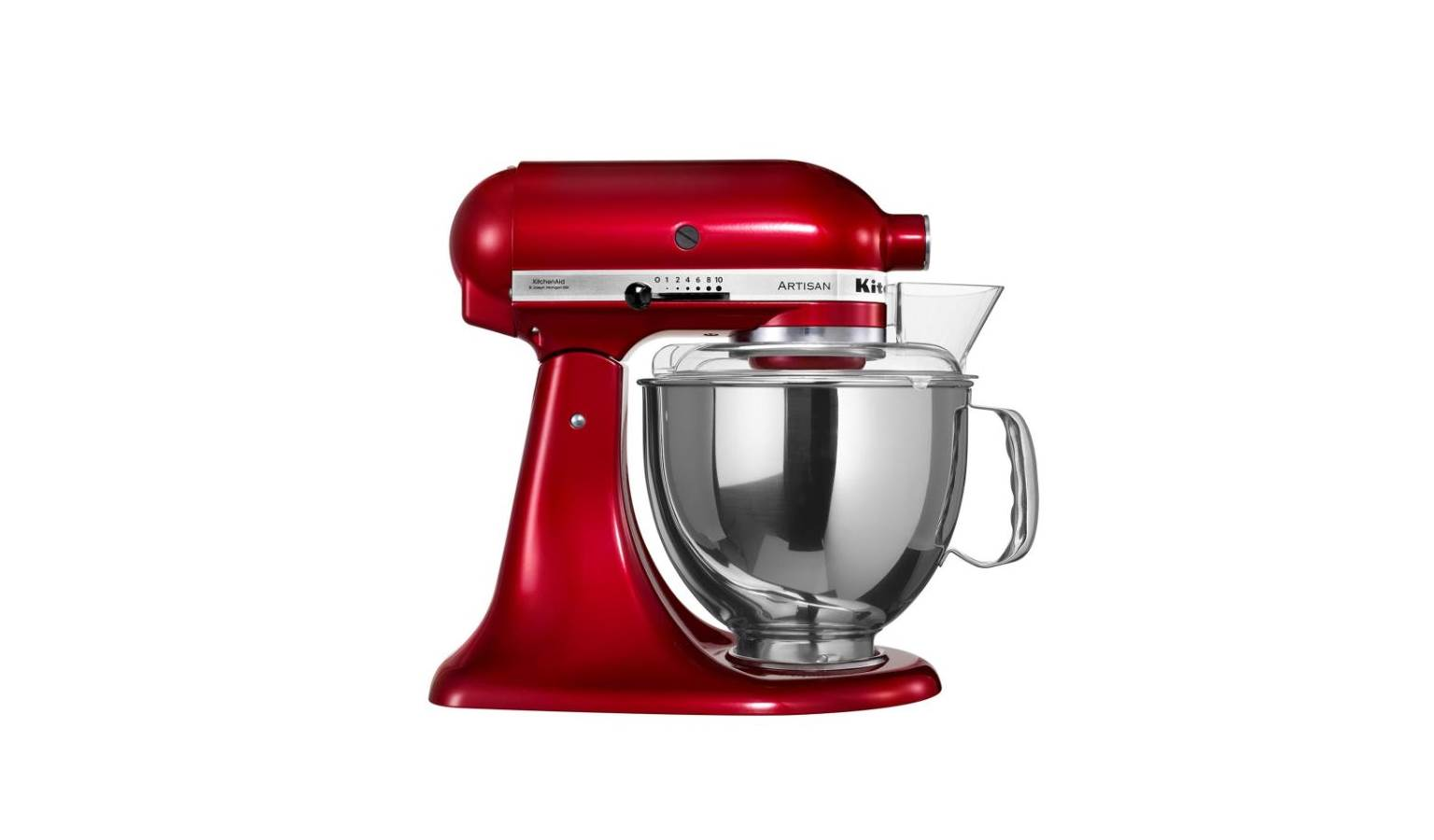 Kitchenaid KSM150 48L Tilt Head Stand Mixer Candy Apple