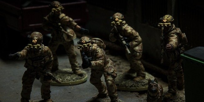 New Task Force Operators from Spectre - Picture from Spectre Minatures