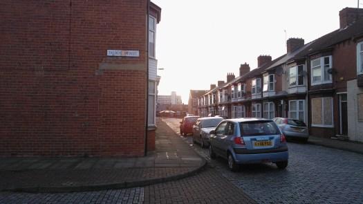 Talbot Street, MIddlesbrough, 13/04/2013
