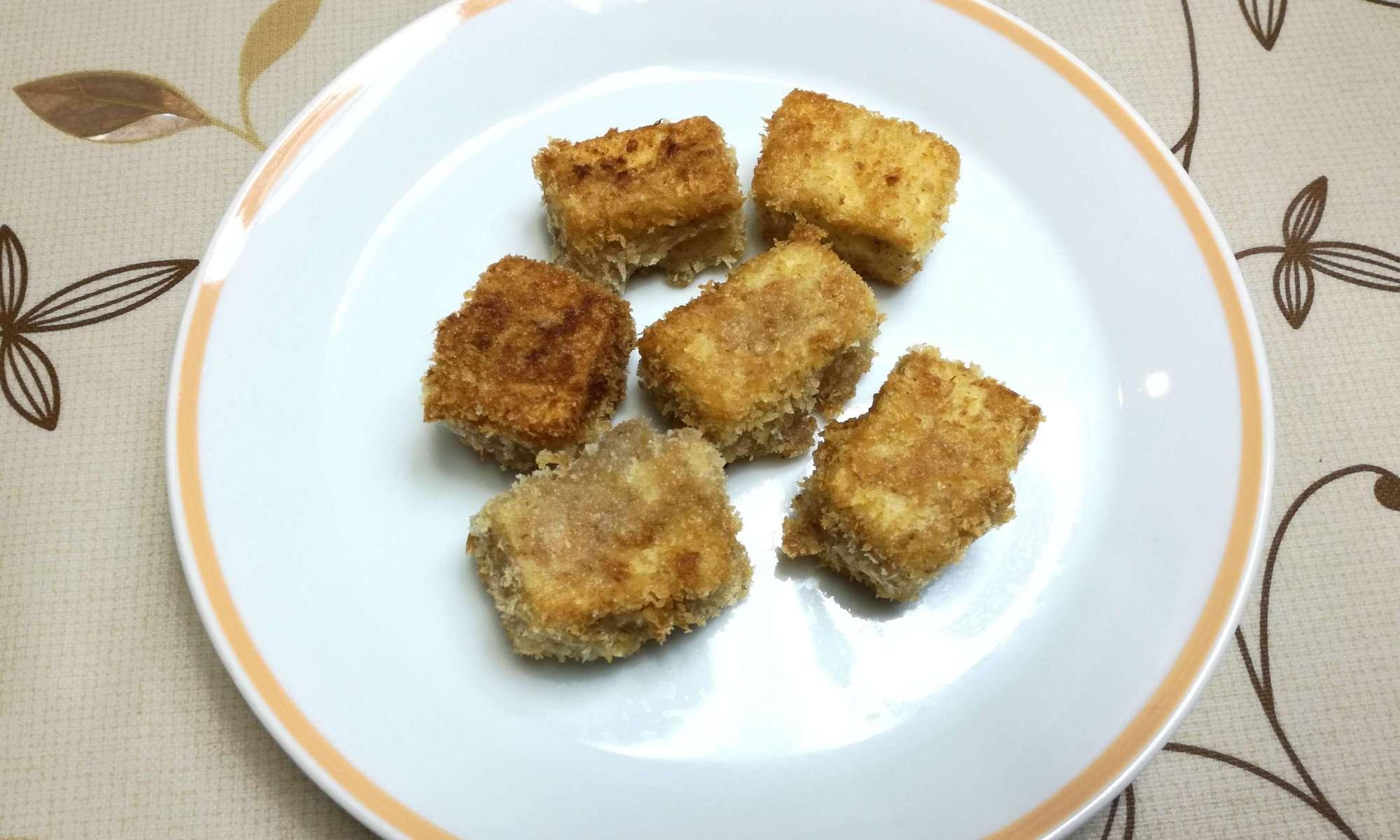 高野豆腐のカツ