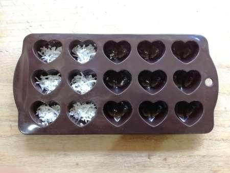 ココナッツチョコレート型