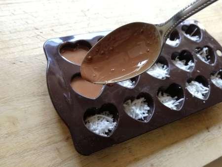 ココナッツチョコレート