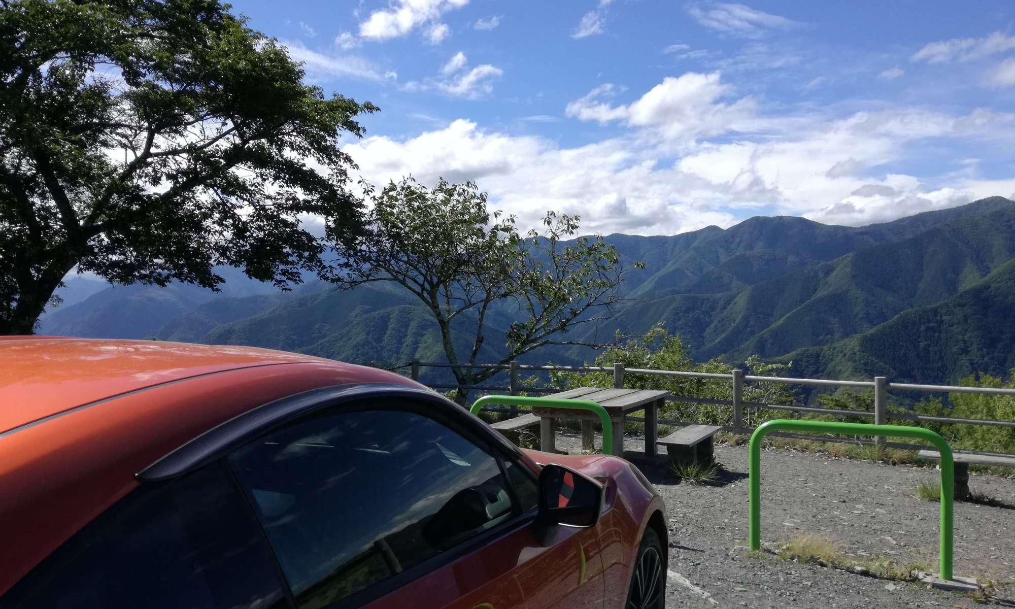 自然散策とドライブ