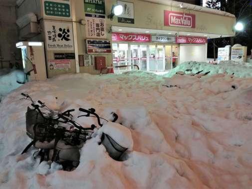 北海道の雪