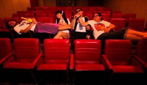 การเลือกที่นั่งในโรงภาพยนตร์บอกนิสัยใจคอ