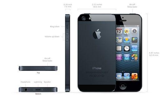 เปิดตัวแล้ว! แอปเปิ้ลเปิดตัว iPhone5 โฉมใหม่บางเบา แรงกว่าเดิม