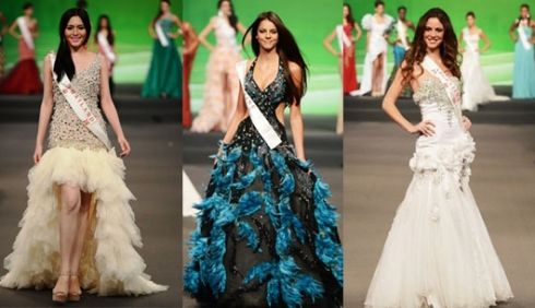 โฉมหน้า ผู้เข้าประกวด Miss world 2012 แต่ละประเทศ