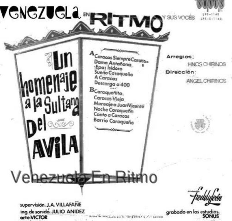 Orquesta Venezuela En Ritmo - un homenaje a la sultana del ávila - 1967 (2/2)