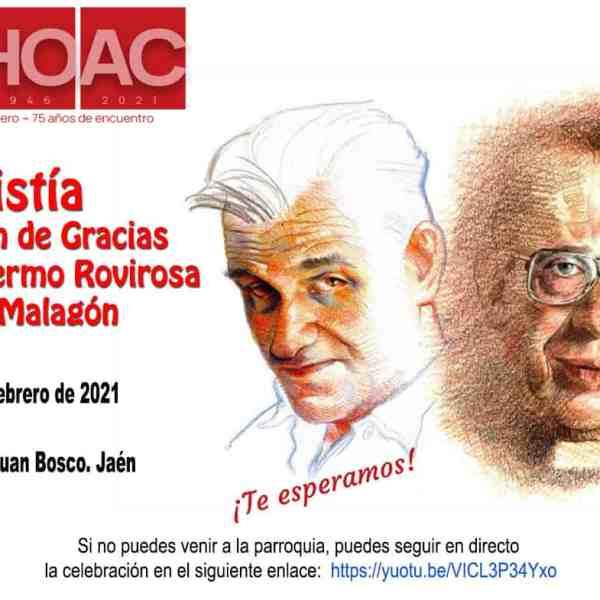 Eucaristía de Acción de Gracias por Guillermo Rovirosa y Tomás Malagón