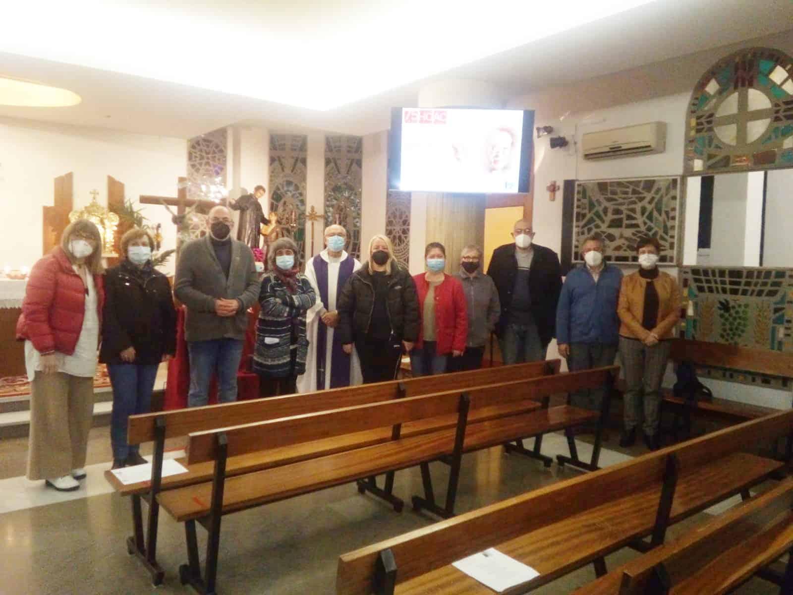 Lee más sobre el artículo Eucaristía de acción de gracias en el aniversario de la muerte de Guillermo Rovirosa y Tomás Malagón.