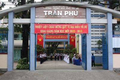 Trường THPT Trần Phú – Vĩnh Phúc