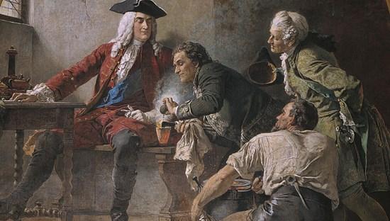 Bước ngoặt cuộc đời đến khiBöttger gặp vua August.