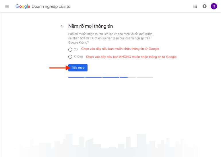 Đăng ký nhận tin tức từ Google