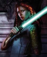 Tenel Ka, one-armed Jedi.
