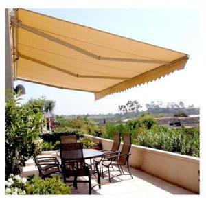Lắp đặt bạt che nắng mưa cho quán cafe