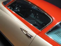 1955 Chrysler (GHIA) Streamline X Gilda. Handle detail.