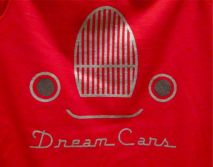 Dream Cars gift shop, T-shirts and Onesies.