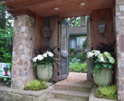 Midtown Atlanta garden tour - entry