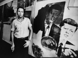 John F. Kennedy [Misc.];Robert Rauschenberg [Misc.];Robert Rauschenberg