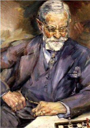 Portrait Doctor Johnson by Schwitters