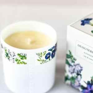 Designers Guild Duftkerze Alexandria Flieder & Lavendel Blumen Pflanzen