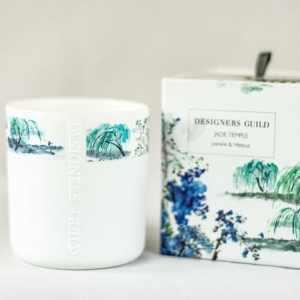Designers Guild Duftkerze Jade Temple Jasmin & Hibiskus
