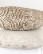 Cushion Muster Braun Beige Struktur