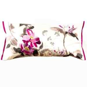 Designers Guild Kissen Lisse Amethyst Rosé Pink Muster Blumen Rechteck Keder
