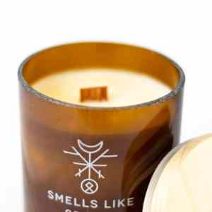 Kerze Duft Candle Holz