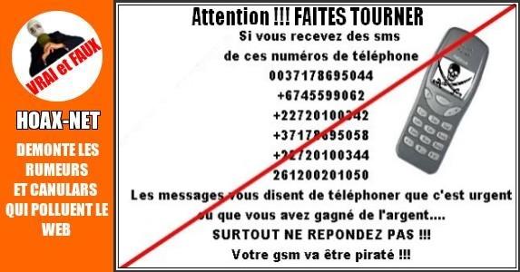 Piratage des gsm/cellulaires par sms /texto
