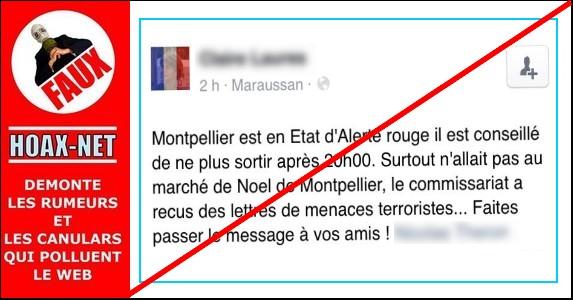 Attentats, Montpellier : de lamentables intox sur Facebook
