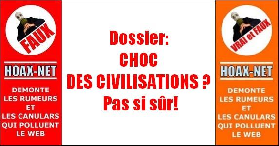 Dossier : Choc des civilisations ? Pas si sûr !
