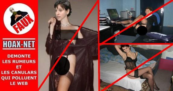 NON, Najat Vallaud-Belkacem ne pose pas en dessous chic et n'a pas demandé de censure du reportage BFM TV pour ces photos !