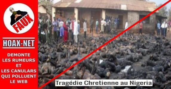 NON, ce n'est pas le Massacre des Chrétiens par les islamistes au Nigeria !