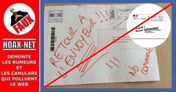 Non, le Président Hollande ne vous a pas écrit à propos du vote des étrangers !