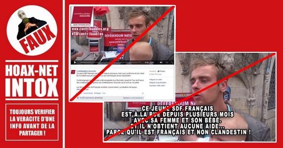 L'affaire du couple de SDF et de son bébé à La Rochelle.