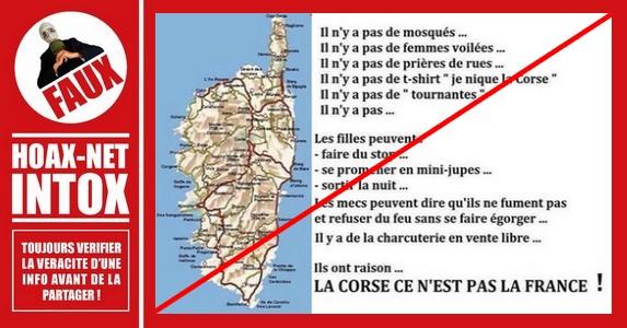 Non, la sécurité n'est pas meilleure en Corse qu'en France !