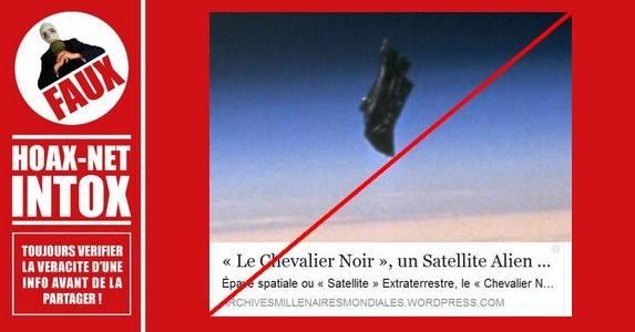 Non, il n'existe pas de «Chevalier Noir» extraterrestre !