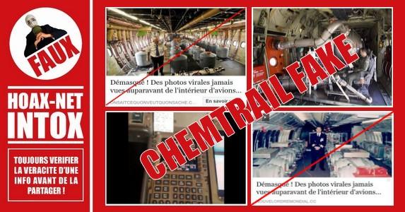 NON, ce n'est pas l'intérieur d'avions épandeurs de Chemtrails