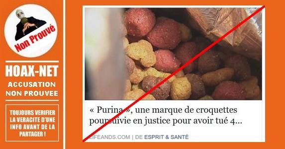 La marque «PURINA» accusée du décès de 4000 chiens