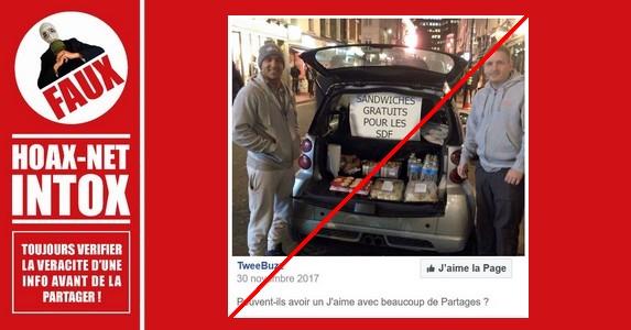 Non, ce n'est pas une photo prise en France que publie TweeBuzz.
