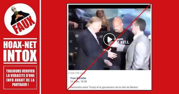 Non, il ne s'agit pas du Gouverneur de Mexico sur cette vidéo