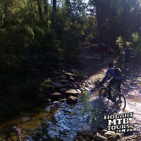 River crossing, MTB style
